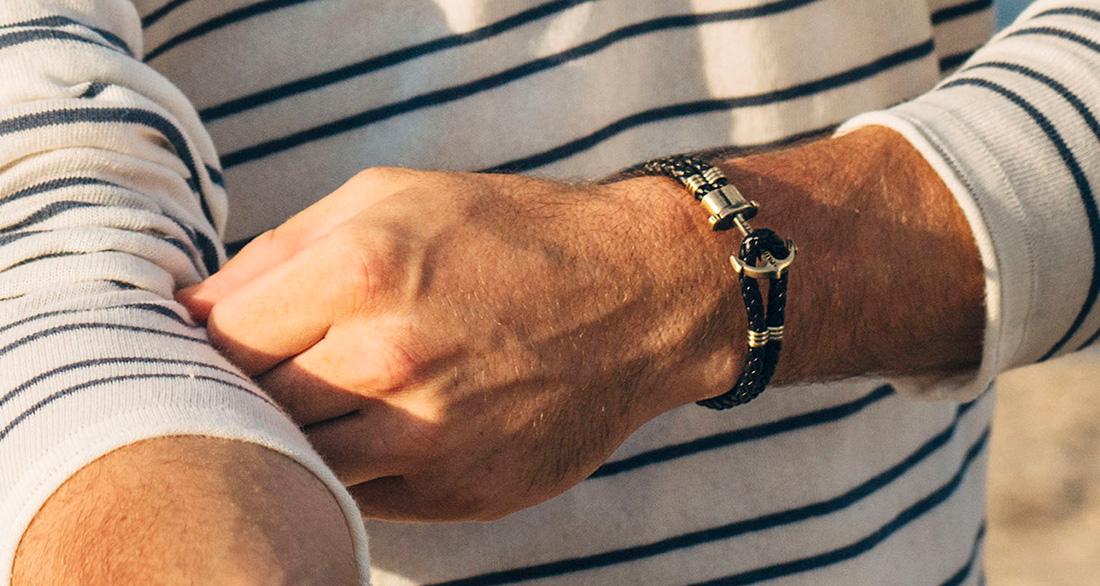 Paul Hewitt braided bracelet - Black pD0Q9lVZ2A