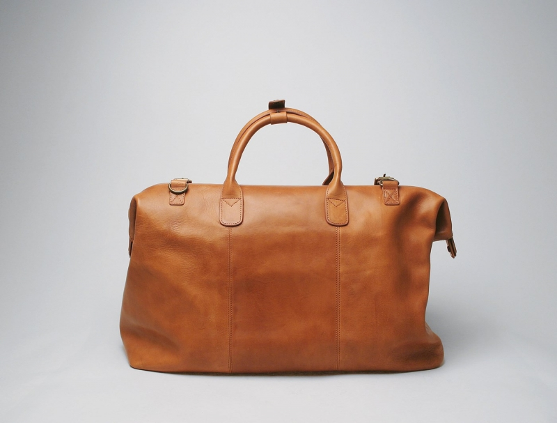 Weekend Bag Tan Leather - Shop online | USA