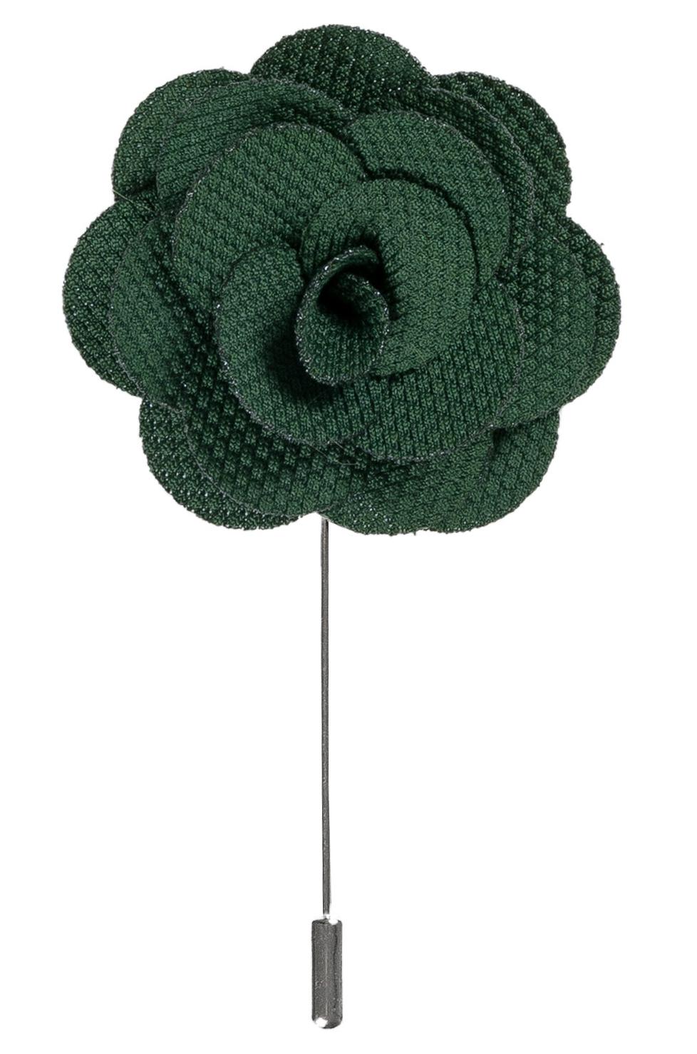 Lapel Flower Pin Green Shop Online Now Usa