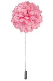 Lapel Bouquet Pin | Pink