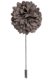Lapel Bouquet Pin | Walnut