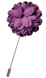 Bouquet Pin | Rose Purple