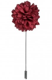 Lapel Bouquet Pin | Ruby