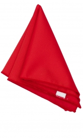 Hanky Square Polyester - Light Red