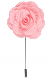 Lapel Flower Pin | Light Pink