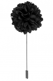 Lapel Bouquet Pin | Black