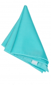 Hanky Square Polyester - Turquoise