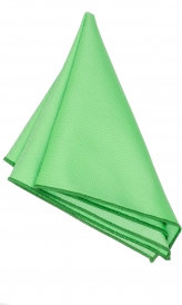Hanky Square Polyester - Mint Green