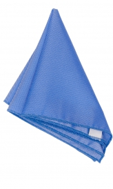 Hanky Square Polyester - Blue