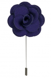 Lapel Flower Pin | Purple