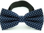 Bow Tie Cotton Collection Navy Dots