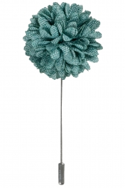 Lapel Bouquet Pin | Emerald