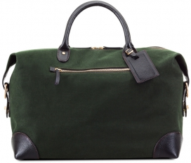 Small Weekend bag - Green Canvas