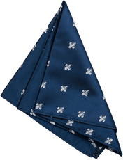 Handkerchief | French Lily | Navy
