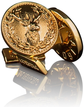 Per Morberg Cufflinks Deer Gold