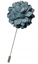 Bouquet Pin | Grey