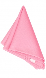 Hanky Square Polyester - Light Pink