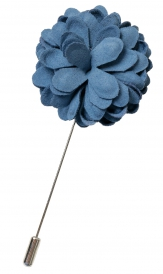 Bouquet Pin | Blue
