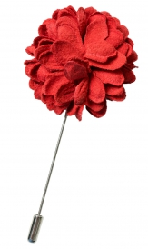 Bouquet Pin | Red