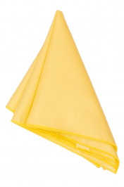 Hanky Square Polyester - Yellow