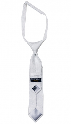 Oscar kids tie white 2-6 years