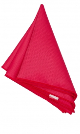 Hanky Square Polyester - Coral