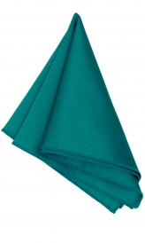 Hanky Square Polyester - Teal