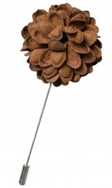 Bouquet Pin | Brown
