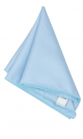Hanky Square Polyester - Light Blue