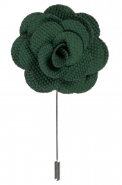 Lapel Flower Pin | Green