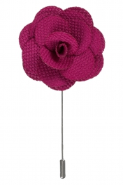 Lapel Flower Pin | Rose Purple