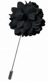 Bouquet Pin | Black