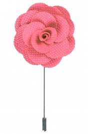 Lapel Flower Pin | Pink